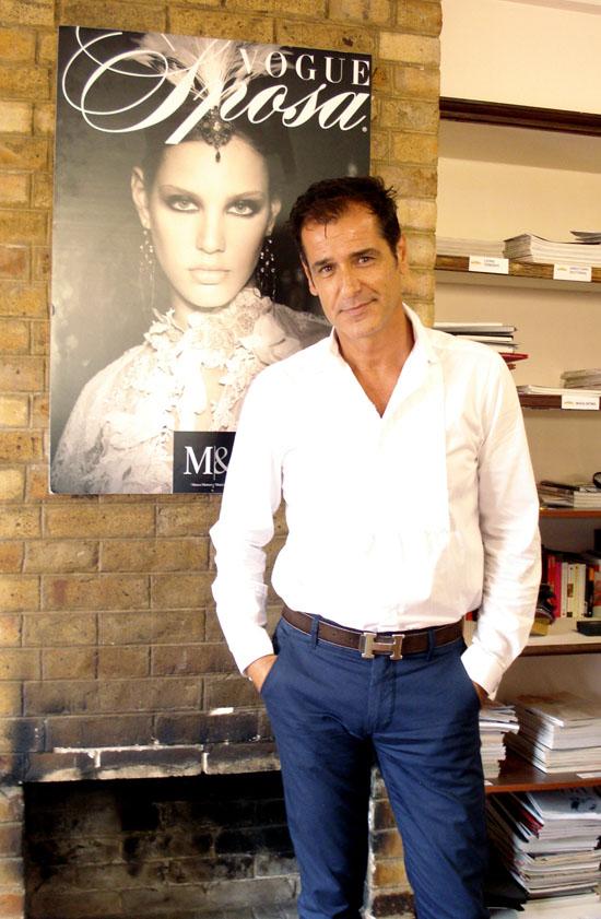 El director de Tenerife Moda en su despacho. / Foto: M.Ledesma.