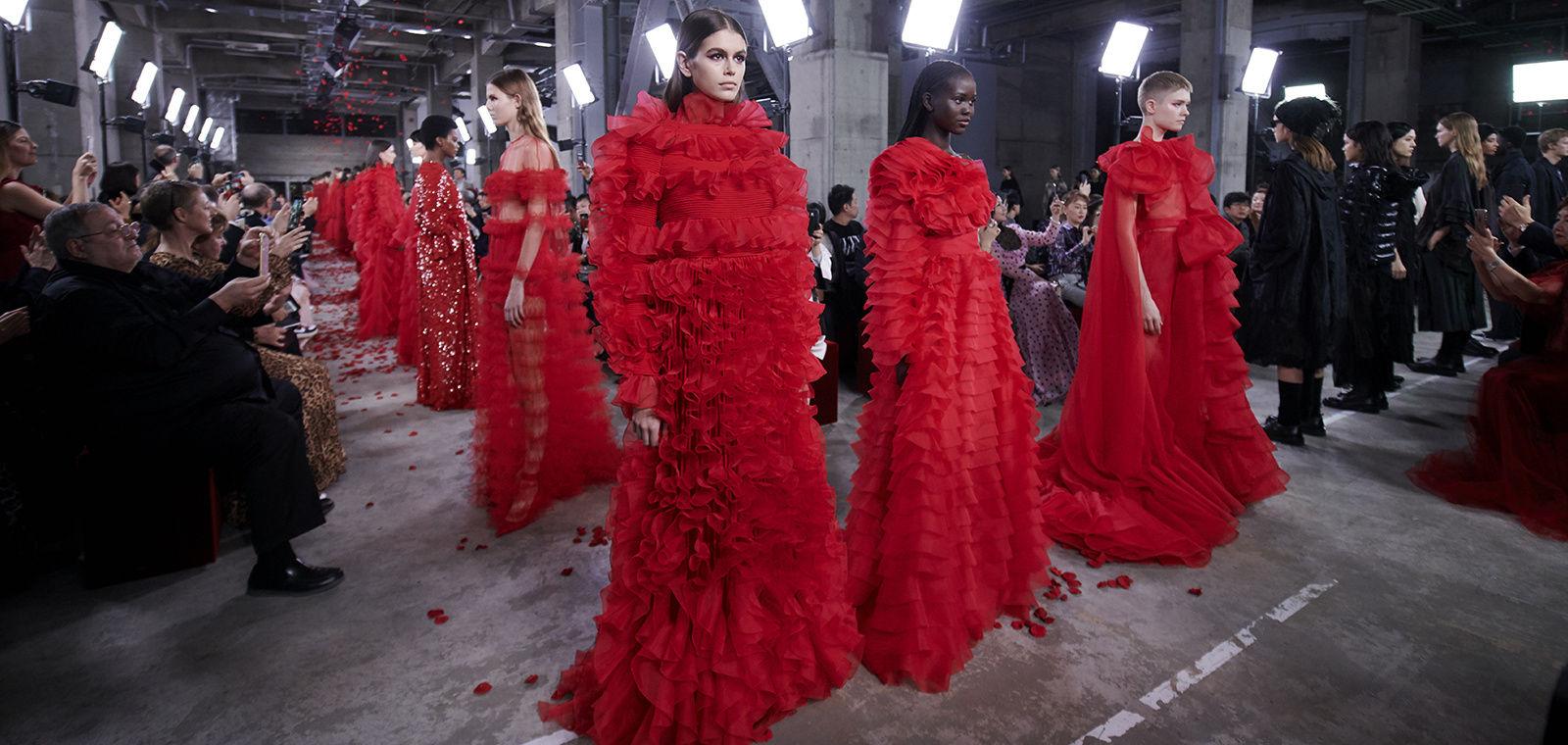El rojo invierno de Valentino