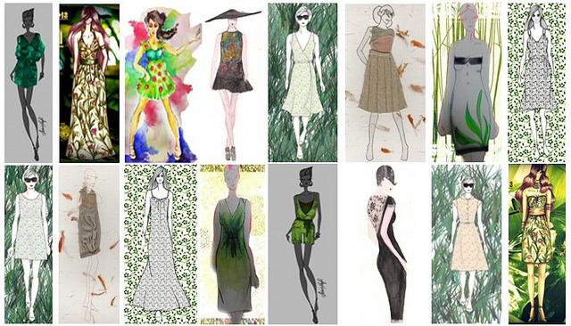Los jóvenes diseñadores presentan sus bocetos a concurso en la web de Iconic.