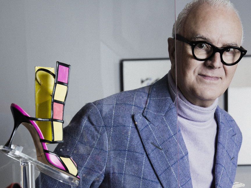 Los zapatos de Blahnik se exhiben en Madrid