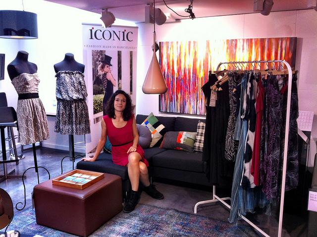 La directora de Iconic, Nuria Posa, en su empresa.