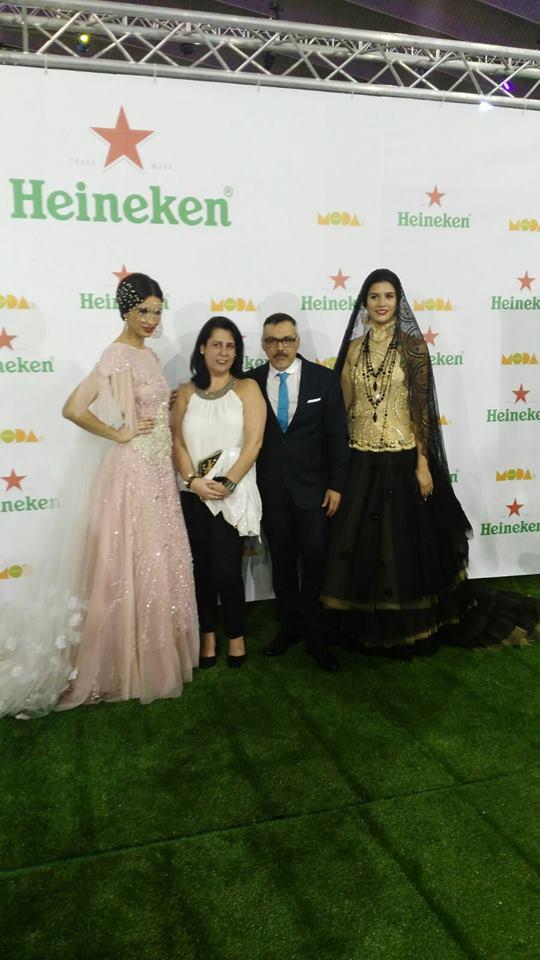 Con Juan Carlos Armas. Feria de la Moda Tfe / 2016.