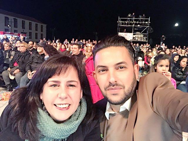 Con Edgar Magdalena. / 2016.