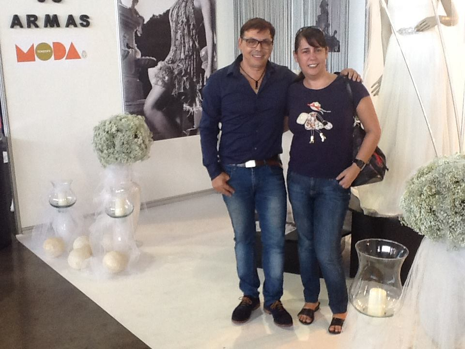 Con Juan Carlos Armas. Feboda 2013.
