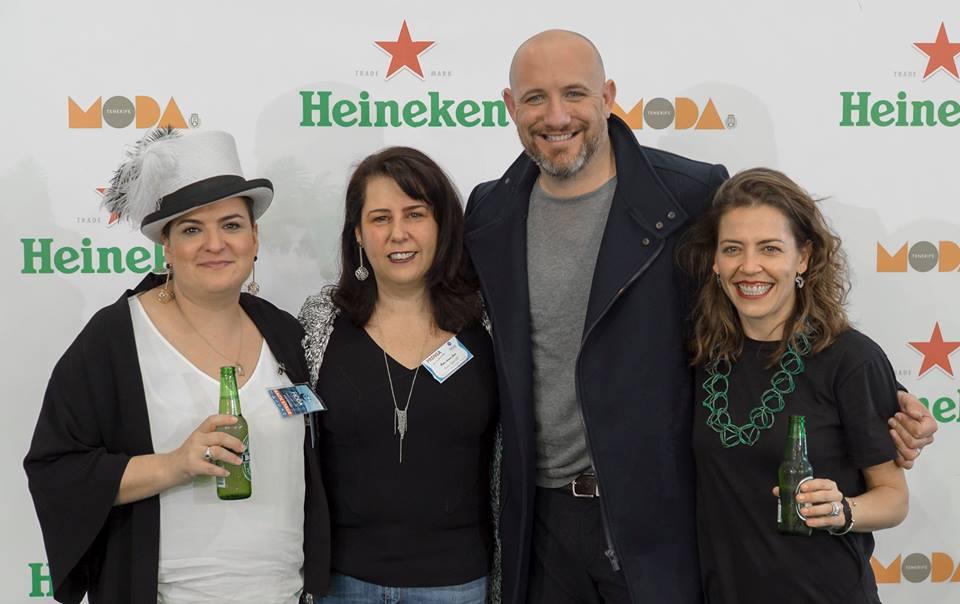 Con Sedomir Rdguez, María Cuesta y Marisa Velázquez. / 2016.