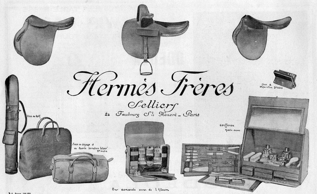 Hermès, guarnicioneros del lujo