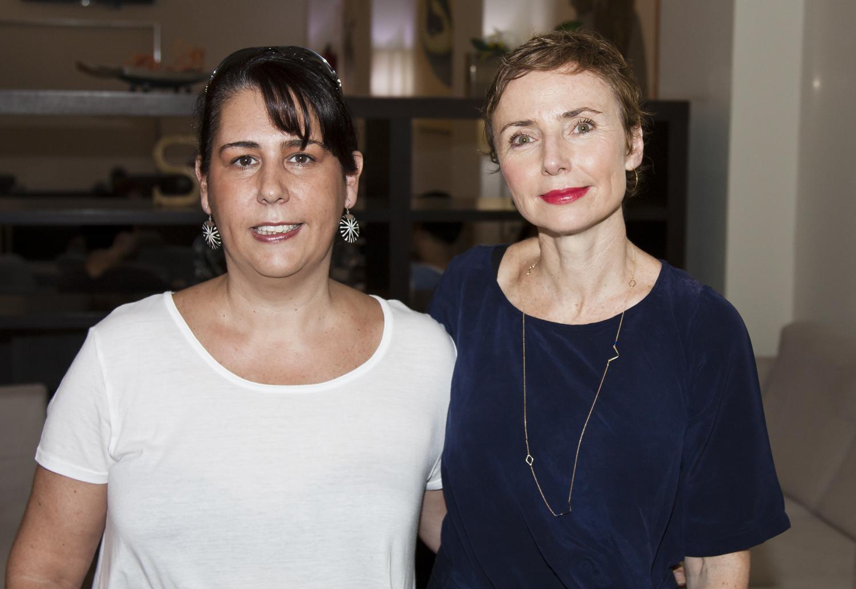 Con Helena Rohnen. / 2014.