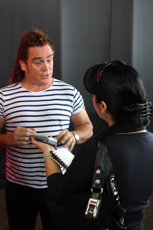 Entrevistando al estilista Patrick Cameron. / 2011.