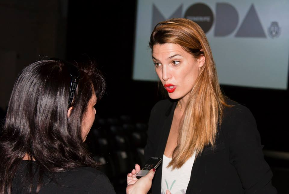 Entrevistando a Laura Sánchez. / 2014.