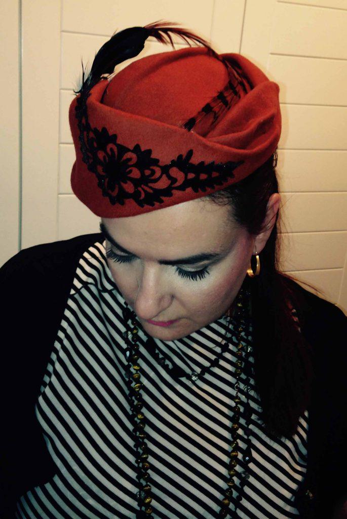 La sombrerera, Marisa Velázquez.