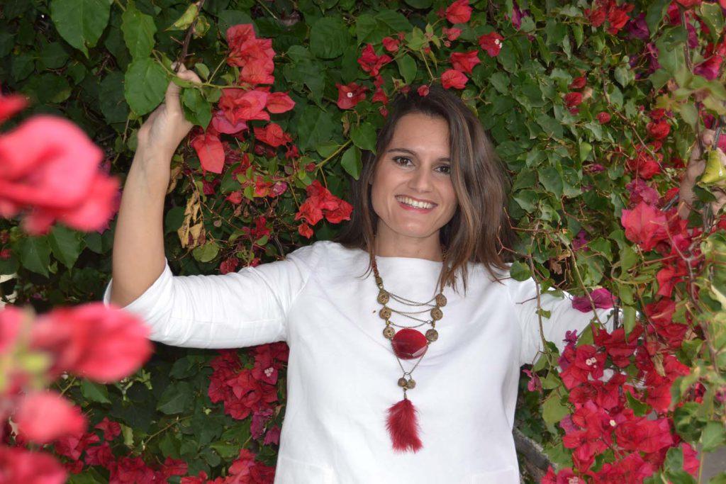 La diseñadora Alejandra Rodríguez de Azero.