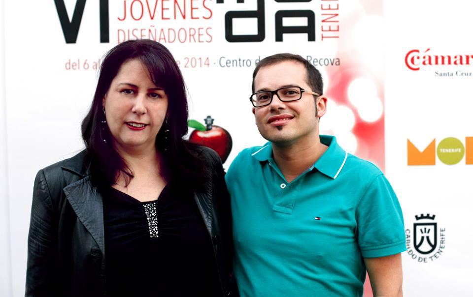 Con Oswaldo Machín. / 2014.