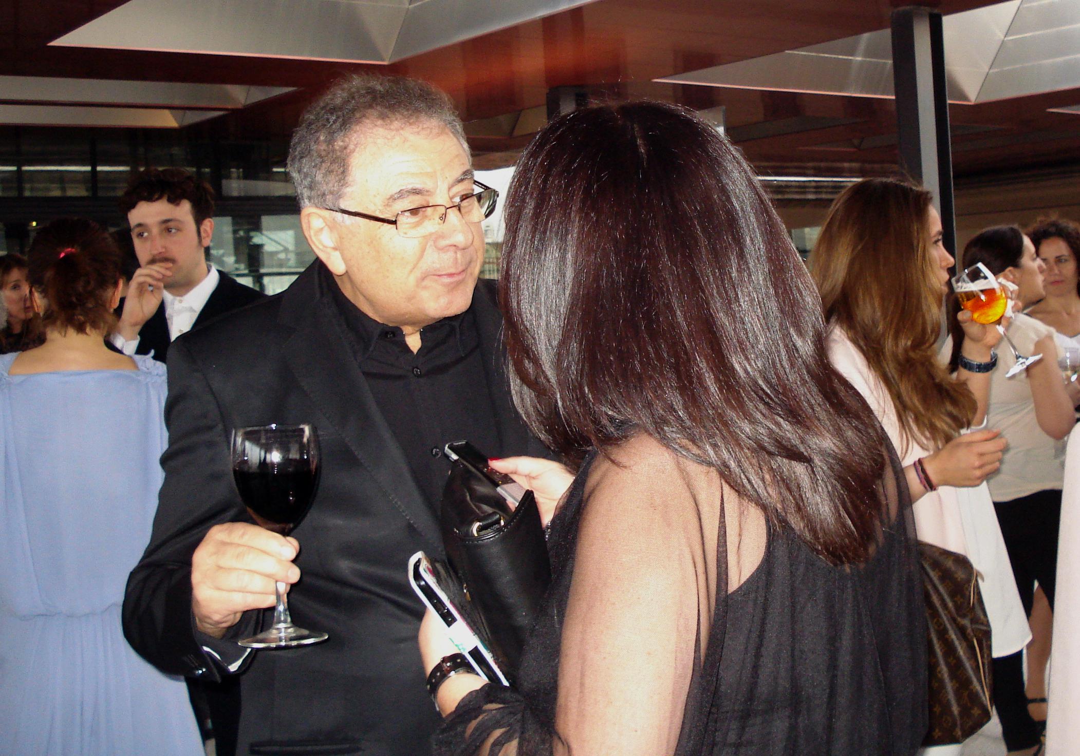 Entrevistando a Roberto Verino. Premios de la Moda. / 2014