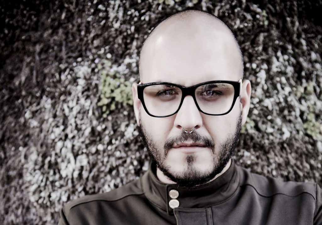 El fotógrafo tinerfeño, Alberto Miranda. / Foto: Airam Abella.