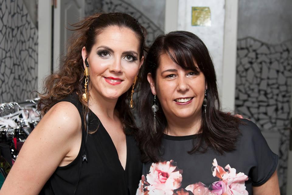 Con María Martín. / 2014.