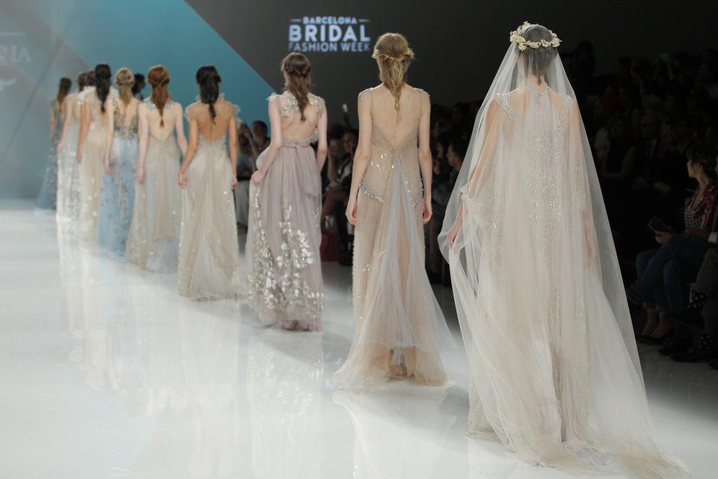 M&M y Amarca presentan sus colecciones en la Barcelona Bridal