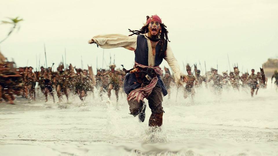'Piratas del Caribe'.
