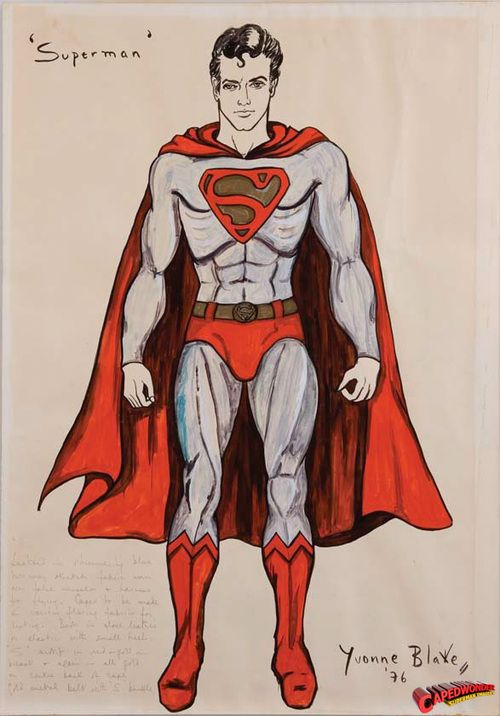 Boceto de Superman.