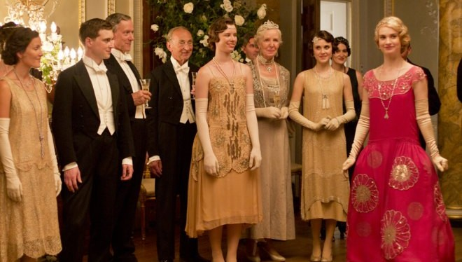 Vestuario para la serie Downton Abbey.