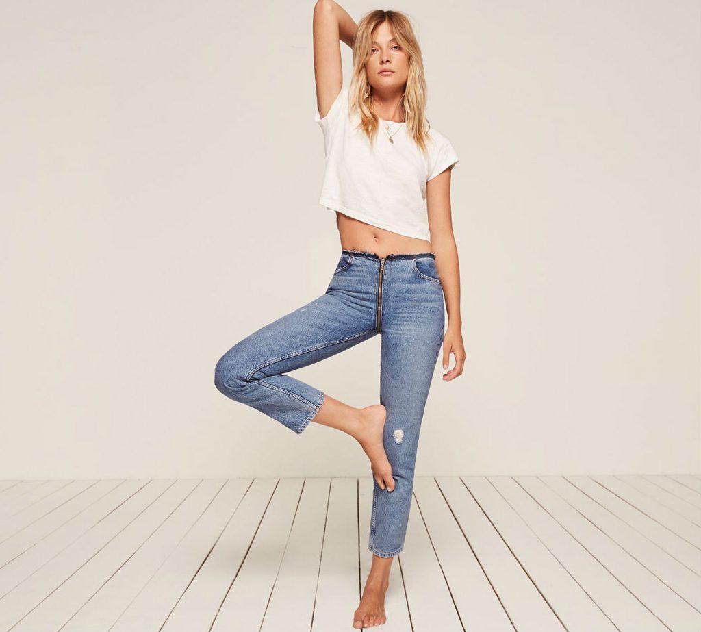 La revolución del jean con cremallera trasera