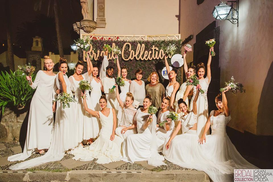 Transgresión y color desfilan en la Bridal Collection de Gran Canaria