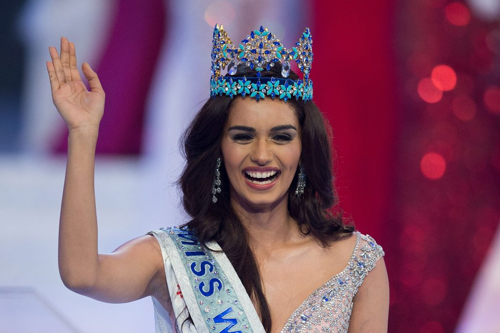 La joven india Manushi Chhillar, elegida Miss Mundo 2017