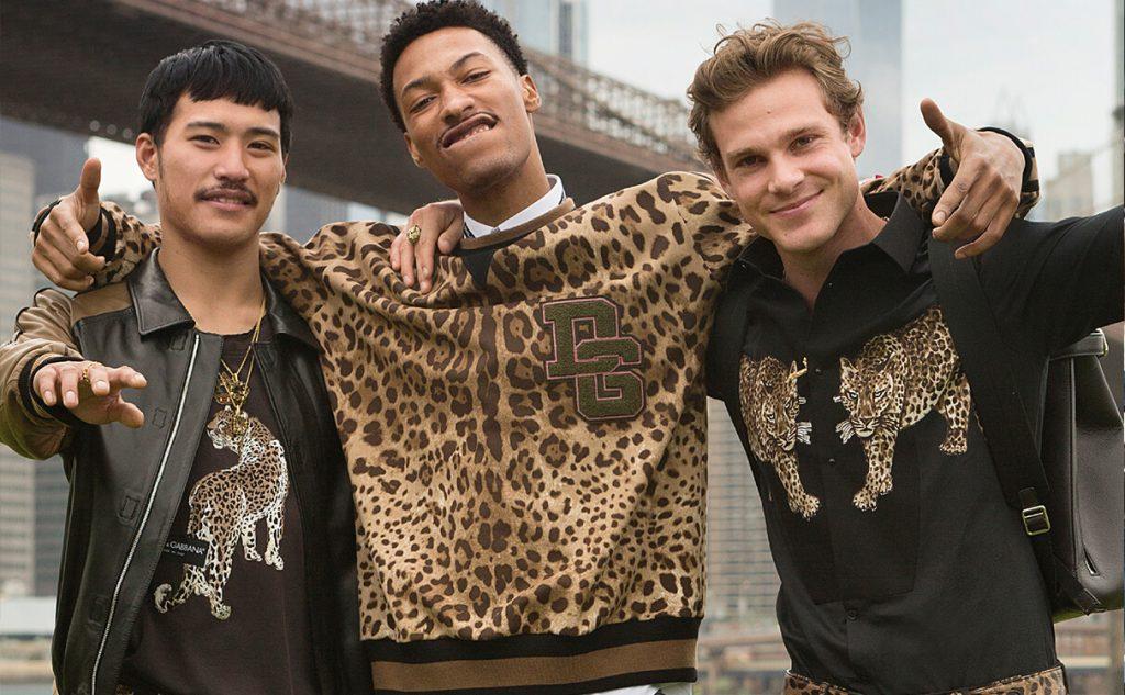 Dolce & Gabbana y sus hombres tigre