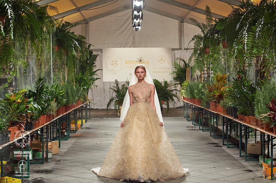 Un jardín de glamour para celebrar los 25 años de la firma M&M