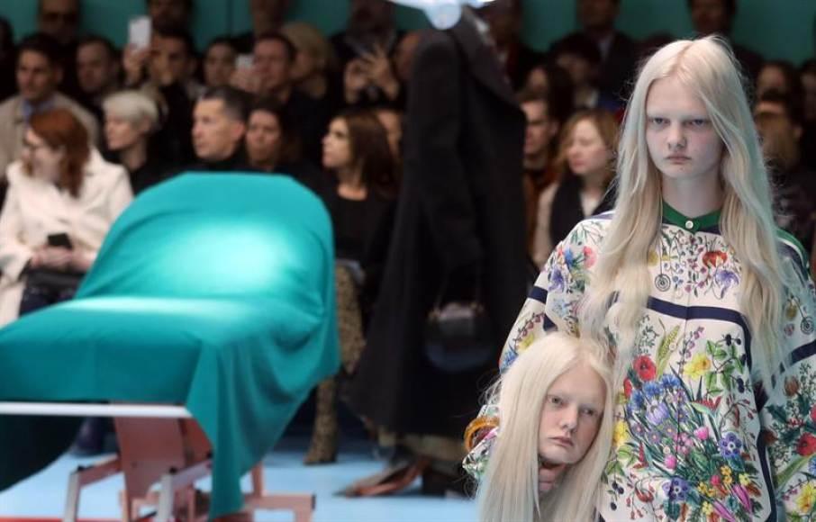 Gucci 'decapita' la moda para reconstruir su propio universo místico