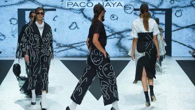 Paco Naya, ganador de Jóvenes Diseñadores con su rompedora 'Ballen/ISH'