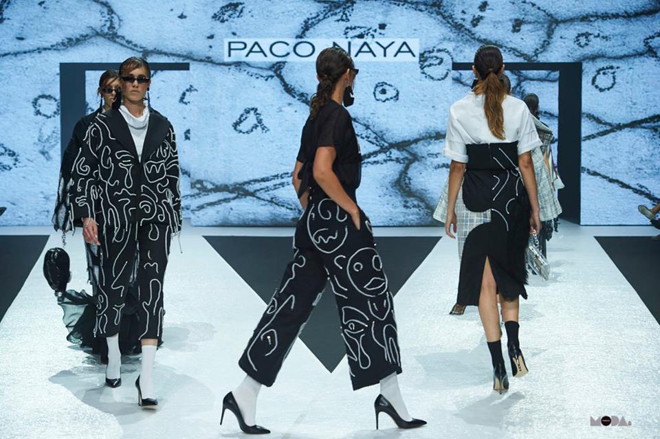 Paco Naya presenta sus diseños en Madrid y en la Vancouver Fashion Week