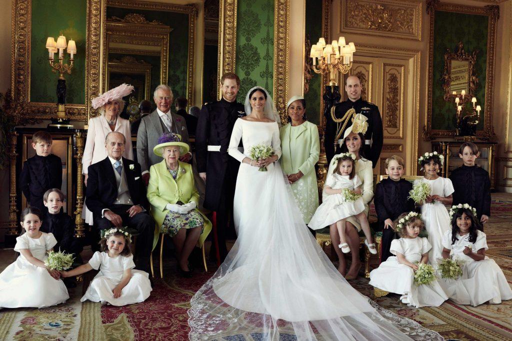 La icónica boda 'royal' del príncipe Harry y Meghan Markle