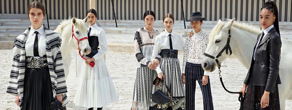 Las escaramuzas mexicanas inspiran la colección Crucero de Dior