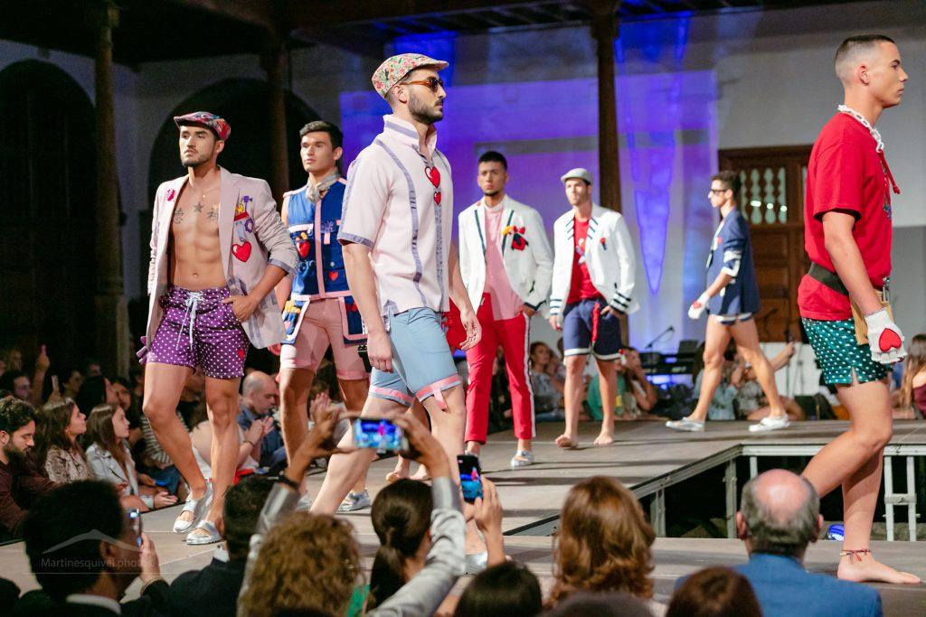 Lucas Balboa y Fabián García visten de moda la noche en Icod de los Vinos