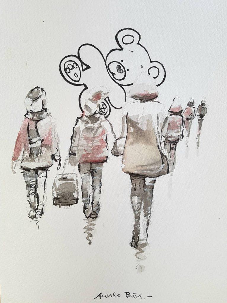 Siluetas. Por Álvaro Peña