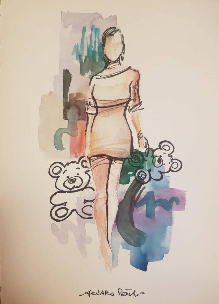 Femenina. Por Álvaro Peña