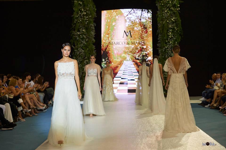 La moda nupcial se viste de blanco y tonos pastel en Feboda