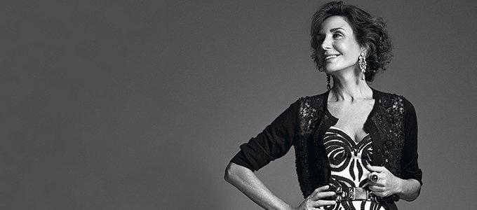 Naty Abascal se convierte en musa de la exposición 'Una crónica de moda'