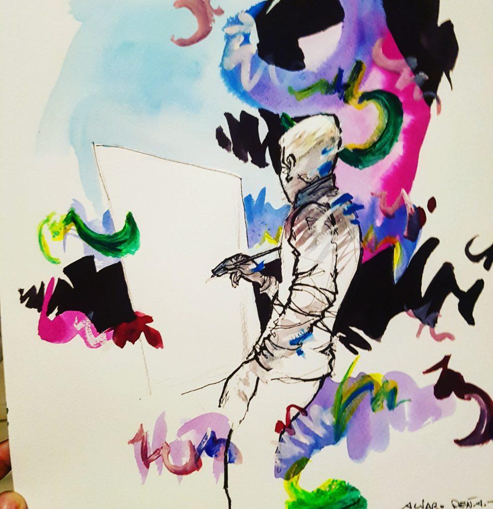 El pintor. Por Álvaro Peña