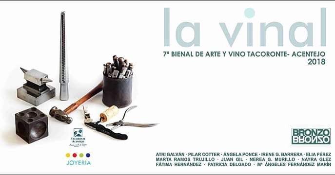 Bronzo y La Vinal visten entre vinos la tradicional exposición 'Joyas de autor'