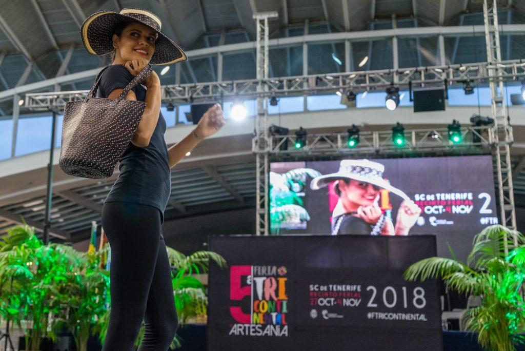 Un viaje de moda por la pasarela de la Feria Tricontinental de Artesanía