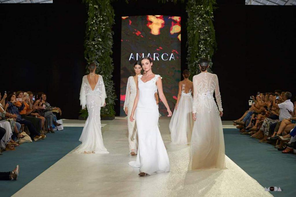 Amarca presenta en la pasarela Atelier Couture su colección 'Raíces'