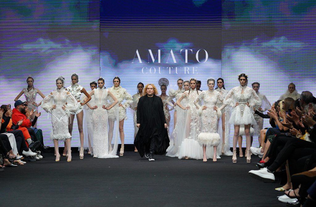 Amato enamora Tenerife con 'War Collection', una oda a la elegancia