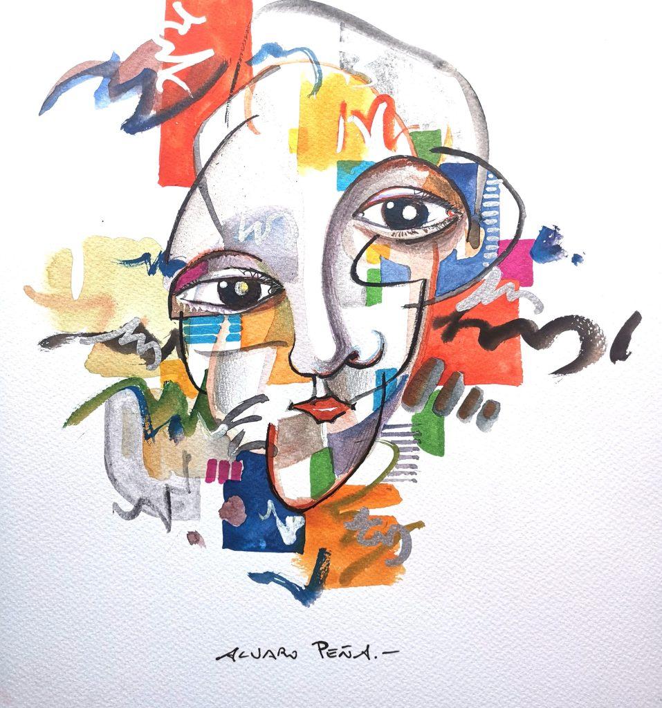 Colors face. Por Álvaro Peña