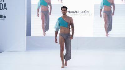 Nauzet León y Patricia Aelbrecht vencen en Promesas de la Moda de La Palma