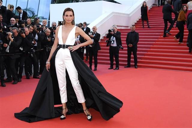 La firma Amarca pisa con Ruth Armas la red carpet del Festival de Cannes
