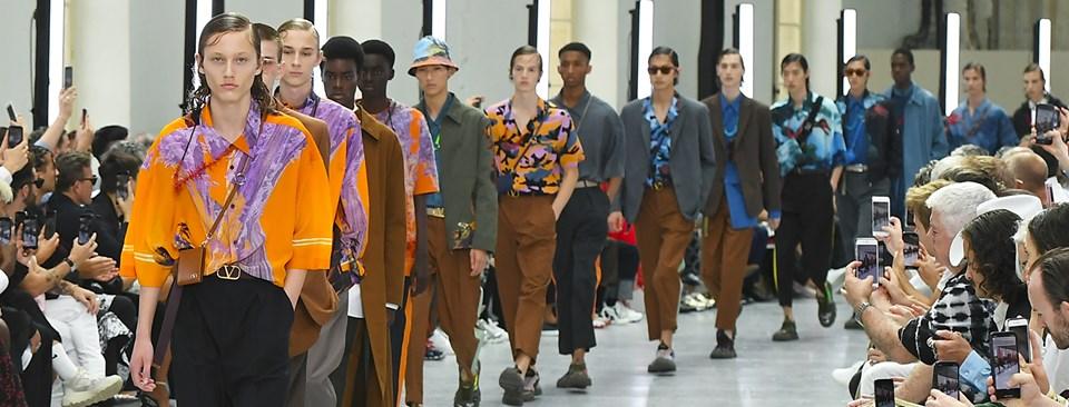 Color y volumetría marcan la próxima primavera-verano masculina