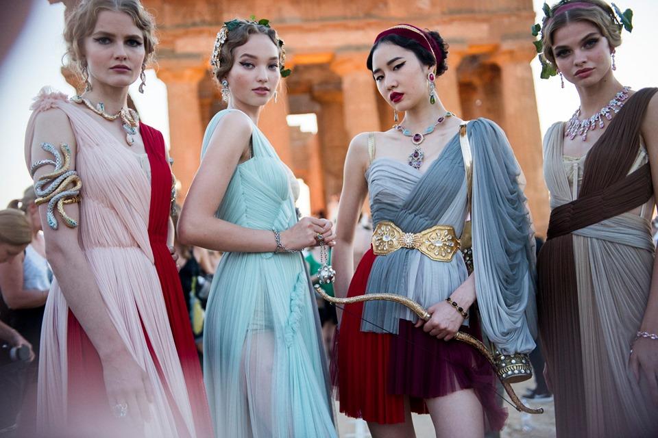 El Olimpo de la Alta Costura de Dolce&Gabbana