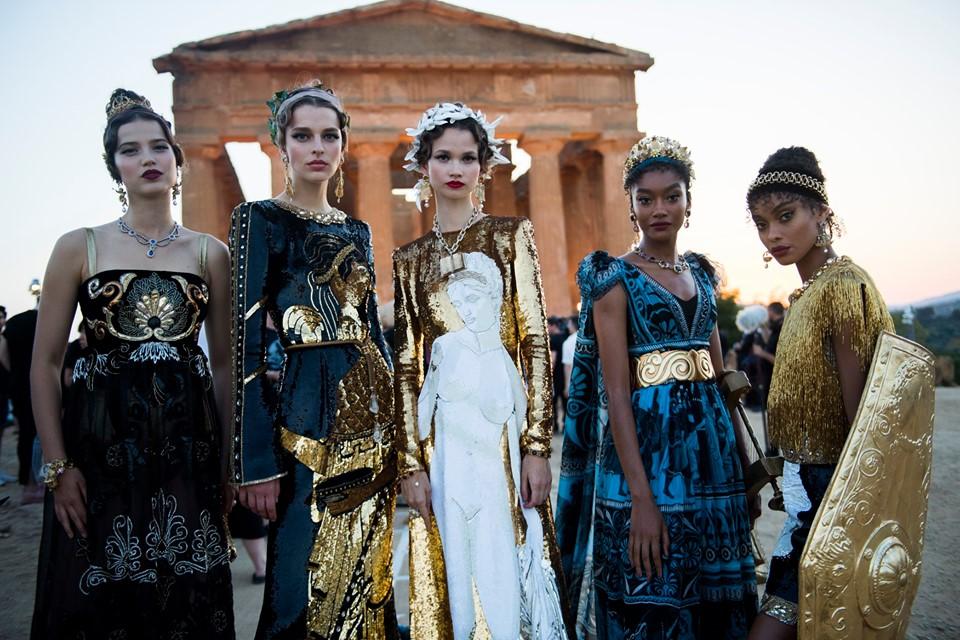 El tributo a los dioses de Dolce&Gabbana