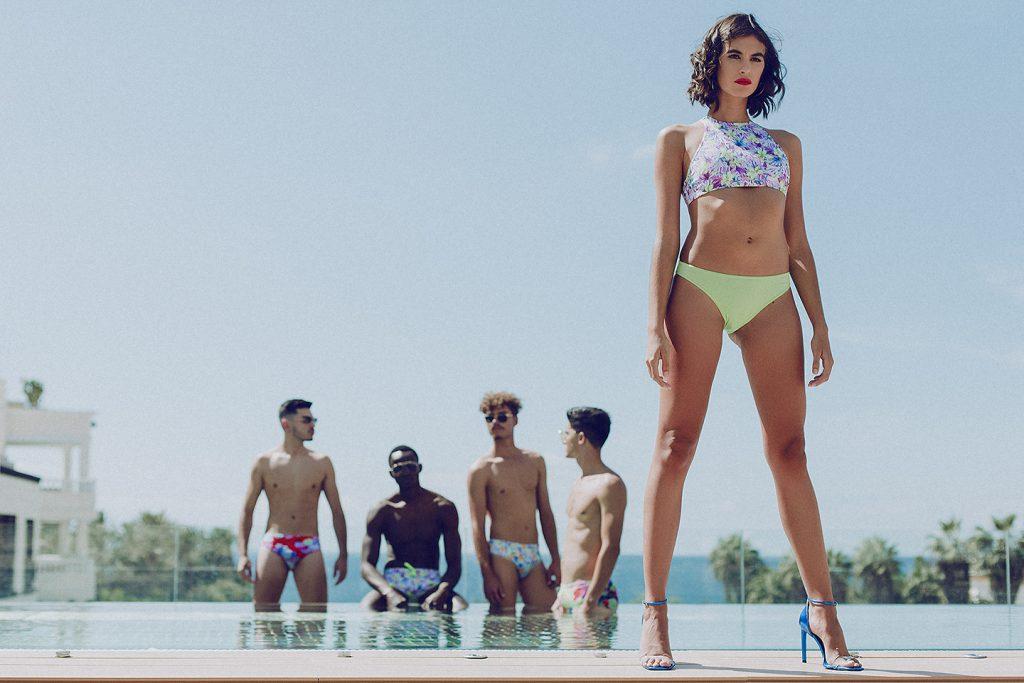 TFBCA. La pasarela New Talents de Tenerife Fashion Beach se rinde al color